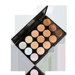 Wholesale New Color Neutral Makeup Eyeshadow Camouflage Facial Concealer Palette Eye Shadow Professional high quality concealer for make up artist