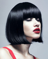 Cheap Black synthetic wigs Best Straight 10 cheap wigs