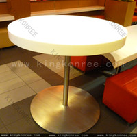 Wholesale hot sale coffee net marble top dining table