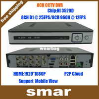 android record audio - Hi3520 HDMI Channel DVR Recorder H Full D1 Recording HDMI VGA Output With CH Audio Support P2P Cloud Android Phone View