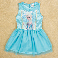 Fashion New Girls Frozen Dress Children Frozen Princess Elsa...