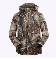 Wholesale AIRSOFT TACTICAL OUTDOOR REAL TREE CAMO CAMOUFLAG MEN S JACKET G8 WINDBREAKER HUNTING COAT IN SIZES