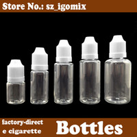 Wholesale 5ml ml ml ml ml ml plastic dropper bottle with child proof lid eyedropper bottle squeeze dropper container DHL