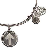 adjustable plate stand - The original Alex and Ani Stand up to Cancer Expandable Wire Bangle Size adjustable shrinkable copper ring bracelet Jewelry factory