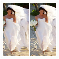 Empire Reference Images Sweetheart LM Hot New Megan Fox Gorgeous Sweetheart Empire Chiffon Wedding Dress Simple Beach Bridal Gowns For Maternity Women Fall Bridal Gowns