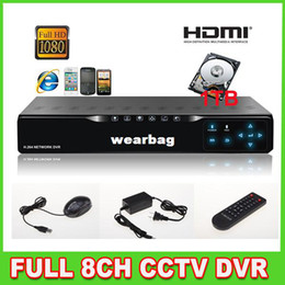 Wholesale CH Channel Full D1 P HDMI DVR TB GB Hard Drive CCTV Touch Panel H Net DVR Standalone Security DVR Real Time