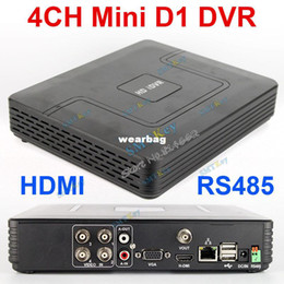 Wholesale-Mini DVR 4CH H.264 CCTV DVR Recorder P2P Cloud 4ch Full D1 CCTV DVR Recorder Support HDMI RS485