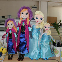 Wholesale Factory Outlet Snow princess dolls cm inch elsa anna toy doll action figures plush toy Snow princess dolls