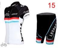 Wholesale Trek Bike Wear For Women Short Sleeve Cycling Jerseys Set LEOPARO Riding Clothing Outdoor Pro Sports Ultra Breathable Bicycle Skinsuit