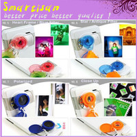 Wholesale LOMO Special Effects Jelly Lens Of Camera Cell Phone Wide Angle Fish Eye Image Mirage