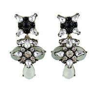 Celtic bijoux - 2Hot Summer Fashion Colorful Rhinestone Beads Owl Shape Dangle Earrings For Bijoux Women
