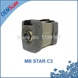 Wholesale 2015 Hot Sale Professional Mb Scanner MB Star C3 For Benz Multiplexer without Software Diagnostic Tool with All New Relay In Stock