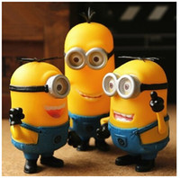 Wholesale Minions Speaker Portable DESPICABLE ME Mini Speaker MP3 MP4 Player Amplifier Table PC Speaker Portable Micro SD TF Card USB