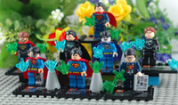 Wholesale Super heroes Superman Block toys D building block Good quality Product Without the original packaging
