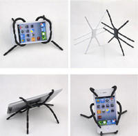 Wholesale Spider Shape Car Phone Cellphone Stand Hanger Holder Grip For iphone s for Samsung S2 S3 S4 S5 for HTC DHL MOQ