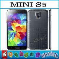 touch screen - Mini S5 Quad Band Inch Capacitive Touch screen dual sim dual camera GSM FM Unlock Phone