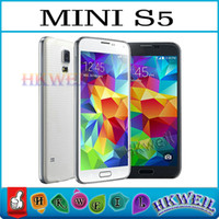 Wholesale Mini S5 dual Band inch Capacitive Touch screen dual sim dual camera GSM WIFI FM cell phone N0332 WEIL