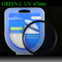 Circular UV 67mm Free Shipping Green Camera Lens Filter UV Filter 67mm For sx50 70d 60d 100d 1100d 650d 18-135 Lens Accessories