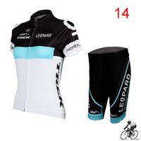 Wholesale TREK LEOPARD Women Cycling Jersey Set Short Sleeve High Elastic Spandex Cycling Bike Jersey XS XL Bicycle Wear