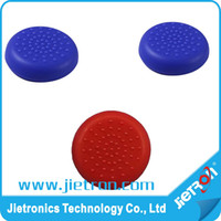 Wholesale Assecure blue TPU silicone gel thumb grip stick caps for Sony PS4 controller