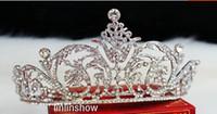 Tiaras&Crowns Rhinestone/Crystal  Wedding Bridal crystal veil tiara crown headband CR197