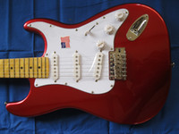 Wholesale Free International cool new Stratocaster6 American original red electric guitar strings
