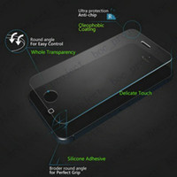 Wholesale 2 D mm H Tempered Glass Screen Protector for iPhone plus s plus s s Sam s7 s6 edge s5 note no retail package