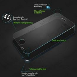Écrans 4s à vendre-2.5D 0.26mm 9H Protecteur d'écran en verre trempé pour iPhone 7 plus 6s 6 6 plus 5s 4s Sam s7 s6 bord s5 note 5 200pcs aucun paquet de détail