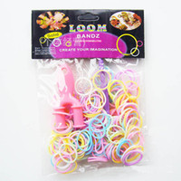 Hotest Rainbow Loom Kit DIY Wrist Bands Neon Fluorescent rub...