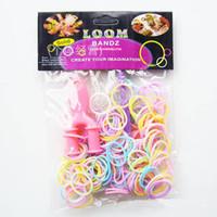 Hotest Rainbow Loom Kit DIY Wrist Bands Neon Fluorescent rub...