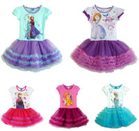 AAA Quality Children's Clothing Fashion Frozen Princess Anna...