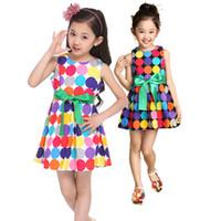 TuTu Summer Ball Gown New Polka Dot summer baby girl dress kids children dresses girls clothes princess tutu skirt baby clothing cute Fashion designs