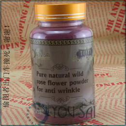 Wholesale 100 natural plant of rose powder for anti wrinkle and relieve tired g