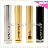 Wholesale 2014 Black Brass SS Turtle Ship V2 Stainless Mod Clone Mechanical Turtleship V2 Mod E cig Fit Battery Stillare v2