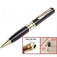 None   Best Selling 1280*960 AVI HD Pinhole Spy Pen Camera Hidden Pen DVR Micro SD Card Hidden DV Camera DHL Freeshipping