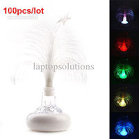 Christmas Tree No No Wholesale - Newest USB Multi Color Changing Christmas Tree LED Light for Laptop 100pcs lot