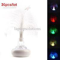 Christmas Tree No No Wholesale - Christmas Gift USB Multi Color Changing Christmas Tree LED Light for Laptop 30pcs lot