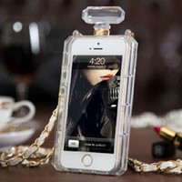 Wholesale Fashion Perfume Bottle Case High Quality Scented Handbag Case for iphone S S for Samsung S5 S4 S3 Note3 Note