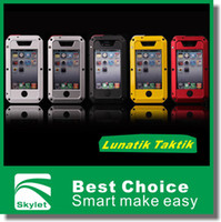 Wholesale For Iphone S Lunatik Taktik Extreme Durable Strike Shockproof Waterproof Dustproof Metal Case Cover Protector In Retail Package DHL