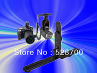 Metal Bracket   5pcs Universal Adjustable Dual-L Flash Bracket Stand Support Holder for DSLR Camera