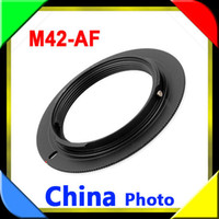 Wholesale Camera M42 Lens To SONY Minolta MA Adapter Ring A900 A850 A700 A550 A350