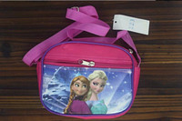 Wholesale Frozen Anna hot drawstring bags kids backpacks handbags children school bags kids shopping bags present frozen backpack