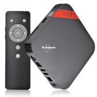 Wholesale X5II Android HDMI Quad Core PC TV Box GB Media Player Smart Remote Control with Remote Controller P0013502