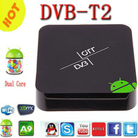 Dual Core Included 1080P (Full-HD) DVB-T2 Android TV Box dvb t2 Amlogic AML8726-MX 1G 8G Android 4.2 OS 3D Optical XBMC Smart TV Receiver Media Player
