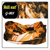 Printed cool cool wipes - Outdoor seamless polyester magic scarf Fashion Hijab Lovely scarf Cool wearing wristbands Girls wipes bosom SCR001