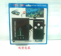 Wholesale Best Sale Black in Mini Switch High Performance p Remote Control HDMI Switcher Computer Accessories YS