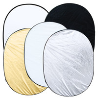 Wholesale 2014 New x inch in Portable Photography Studio Multi Photo Collapsible Light Reflector Oval x cm