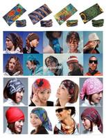 Wholesale Mixed Batch Multifunctional Headwear Neck Bandana Multi Scarf Tube Mask Cap Large Number of Style Retail