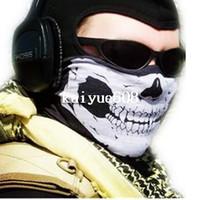 Scarves bask design - Skull Design mask Road bikes Bandana Ski Sport Motorcycle Biker Scarf Face Mask bandanas bicycle Prevent bask in ride face mask