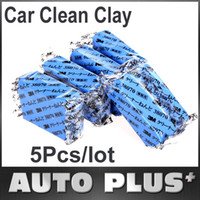 Brush Sponges, Cloths & Brushes 2 cm 5Pcs lot Car Cleaning Tool Magic Car Clean Clay Bar Auto Detailing Cleaner Washing Sludge Mud Remove Free Shipping Wholesale
